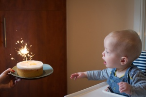 My son's first Birthday Cake